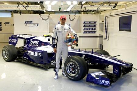 Williams confirma a Pastor Maldonado para 2011