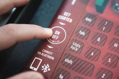 ¿Y si el mantel de tu bandeja de comida rápida fuese un teclado bluetooth?