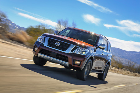 Nissan Armada Front