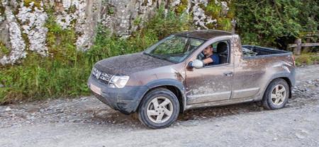 Dacia está probando una versión pick-up del Duster