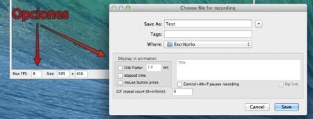 LICEcap para OS X, grabar lo que sucede en pantalla y generar un gif animado