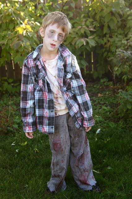 Disfraz Halloween Facil Barato Zombie 2