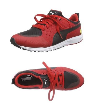 Las zapatillas Puma Pitlane SF con logo de Ferrari en el talón pueden ser nuestras desde 32,30 euros gracias a Amazon