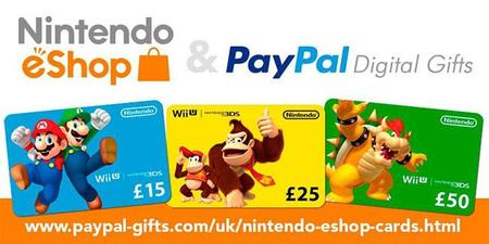 Ya no tenéis excusas para no comprar tarjetas regalo de la eShop de Nintendo