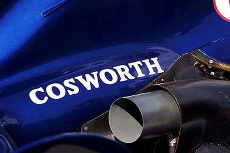 Williams F1 duda de los motores Cosworth