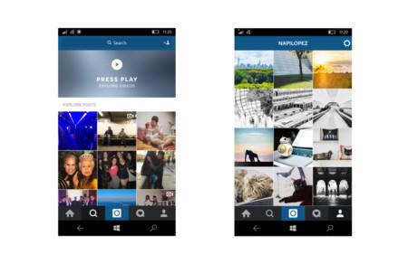 Instagram Win10 Beta