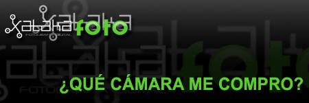 ¿Qué cámara de fotos me compro?