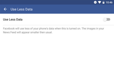 Facebook Usar Menos Datos