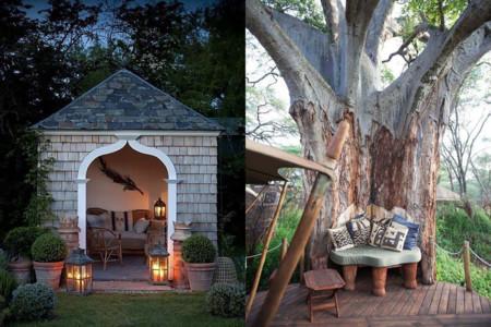 17 proyectos para hacer un rincón de lectura en el jardín