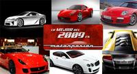 Lo mejor de 2009 en Motorpasión: ¿cuál es el mejor deportivo sin limitaciones?
