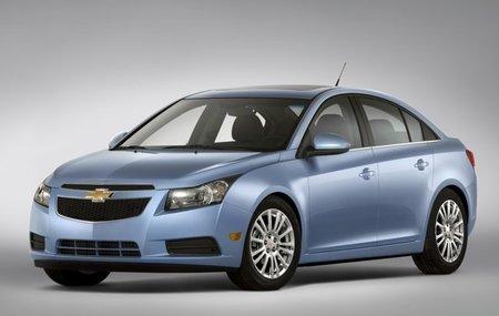 3,65 l/100 km con un Chevrolet Cruze (de gasolina)