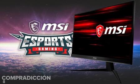 Precio mínimo en Amazon para el monitor gaming MSI Optix G241: puede ser tuyo por 179 euros