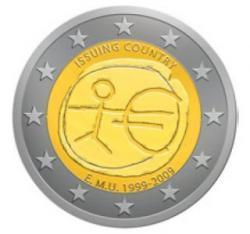 Diez años del Euro se celebra con una moneda