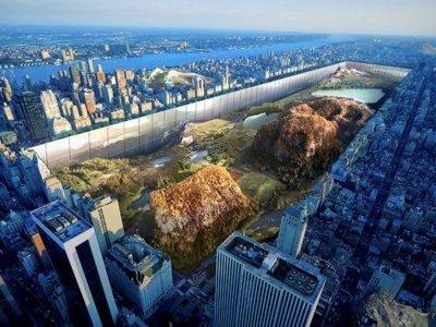 Hundir Central Park 30 metros es el proyecto urbanístico más asombroso que hemos visto