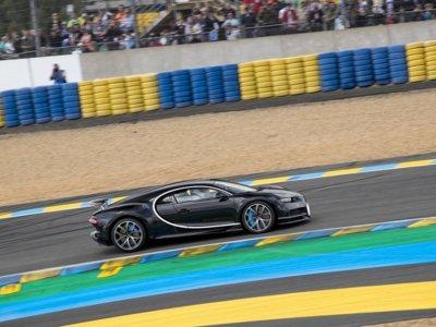 ¿Y si te digo que el Bugatti Chiron fue el coche más rápido en Le Mans?
