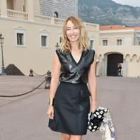 Alexandra Golovanoff en el desfile de Louis Vuitton