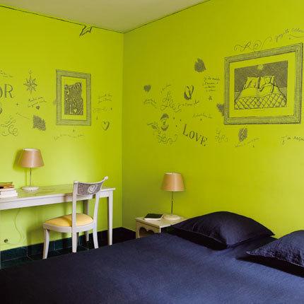 Pinta la decoración de tu pared para aligerar