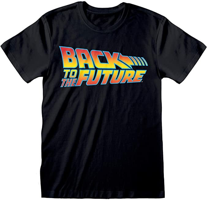 Back To The Future Logotipo de la película Camiseta para Hombre, mercancía Oficial