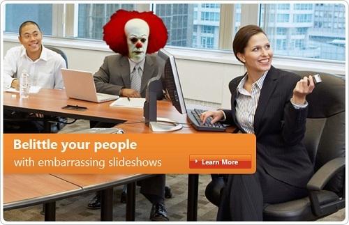 Foto de Versiones photoshopeadas del anuncio de Microsoft Polonia (3/5)
