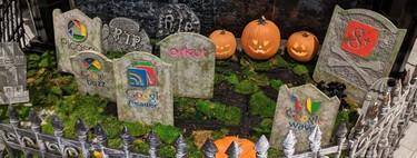 """Google se prepara para Halloween con un cementerio de los productos que ha """"matado"""""""