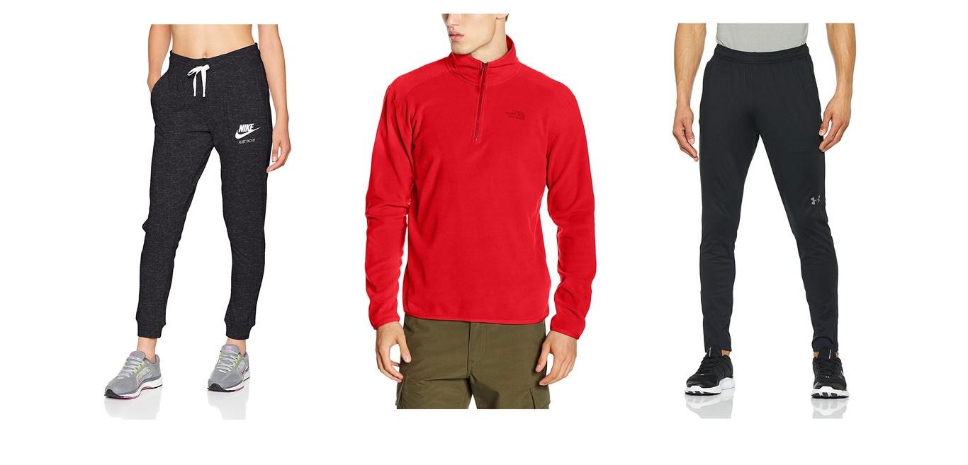 Mediador ventana Letrista  14 ofertas en ropa deportiva de marcas como Under Armour, North Face, Nike  o Adidas en las rebajas de Amazon 2019