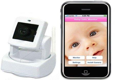 Convierte tu iPhone en un vigila bebés
