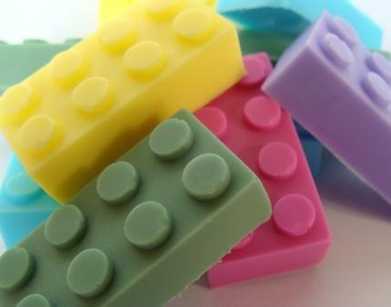 Jabón Lego