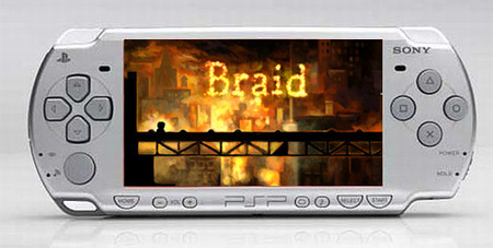 'Braid', de Xbox Live Arcade, podría aparecer para PSP