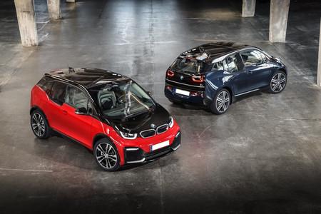 BMW i3 e i3s en parado