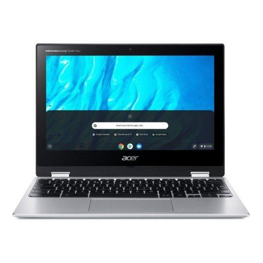 El Acer Chromebook Spin 311 cuenta con una batería de larga duración, procesador Mediatek octa core, 4 GB de RAM, 32 GB de disco y una conexión WiFi 5 (802.11ac) para ponee a los usuarios en línea en un instante.