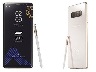 El Samsung Galaxy Note 8 llega en una edición especial para los Juegos Olímpicos de Invierno 2018