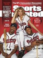 Ni una, ni dos... ya van tres las veces que Kate Upton se hace con la portada de la Sports Illustrated