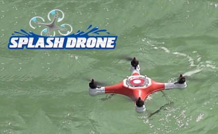 A algunos drones también les gusta el agua: Splash Drone