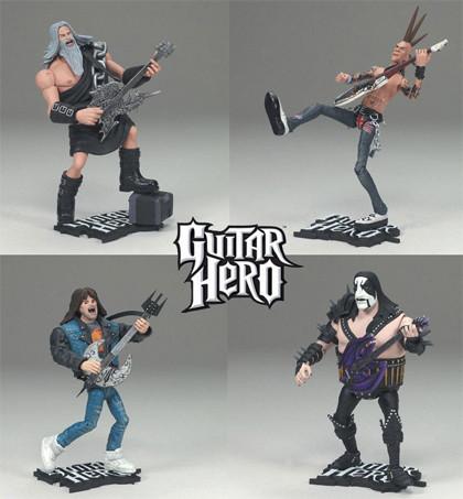 Figuras de acción del Guitar Hero