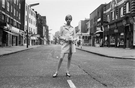 Twiggy In The Kings Road London 1966
