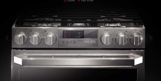 LG amplía la conectividad en la cocina con más integrantes de la gama Signature: un lavavajillas y un horno