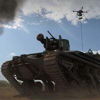 Este brutal tanque robótico se controla a distancia y no necesita piloto, tiene drone integrado y busca ser toda una arma letal