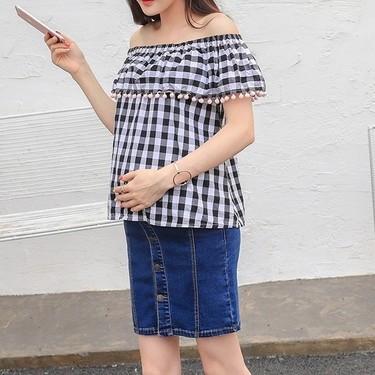 Te contamos dónde encontrar la falda vaquera premamá ideal si estás embarazada