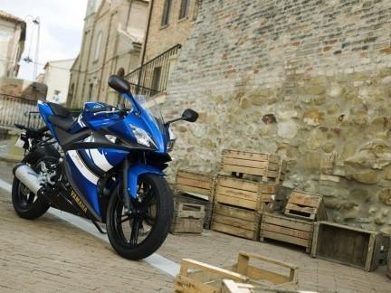 Yamaha YZF-R125, deportiva, cuatro tiempos y de 125 para 2008