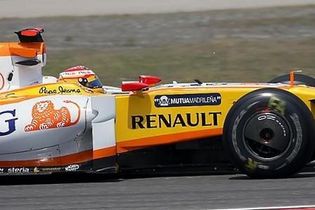Fernando Alonso partirá mañana desde la primera línea