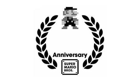 Nintendo registra un logo especial para conmemorar el 25 aniversario de 'Super Mario'