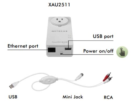 Netgear music extender USB-RCA