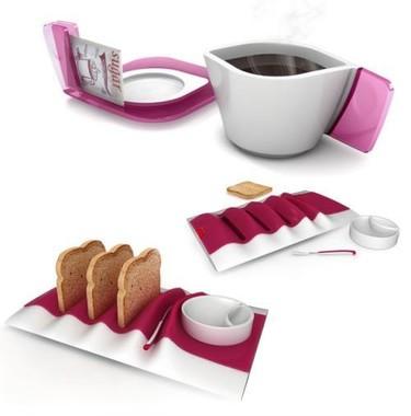 Regalos decorativos para esta Navidad: utensilios originales para el desayuno