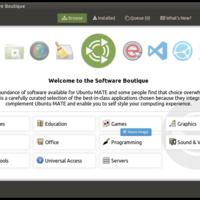 """Ubuntu MATE tiene una nueva """"Boutique de Software"""" que soporta paquetes Snap y podría llegar a más distros"""