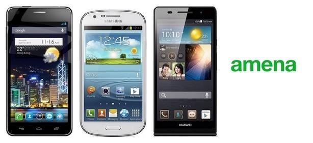 Precios Galaxy Trend y Alcatel OT Idol con tarifas Amena