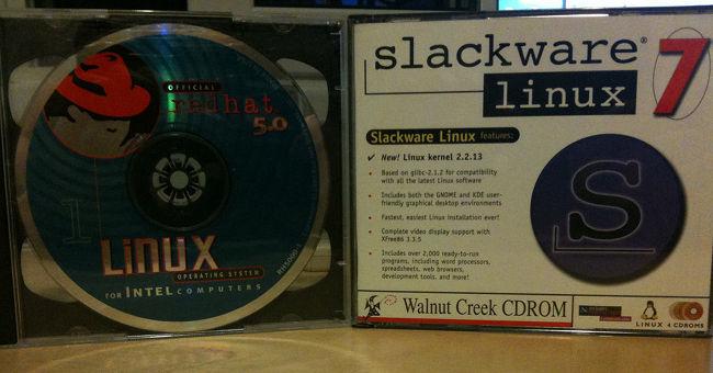 RedHat y Slackware