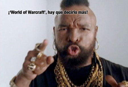'World of Warcraft', Mr.T vuelve con ganas de repartir granadas...
