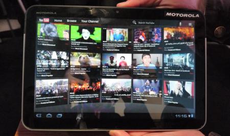 Motorola Xoom, lo probamos en el MWC 2011
