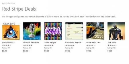 Ofertas de Red Stripe: Doodle God, Chronos Calendar y 4 aplicaciones más