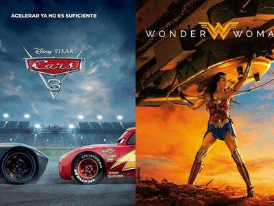 'Cars 3' pierde público pero conquista la taquilla USA mientras 'Wonder Woman' se consolida como fenómeno